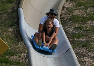 Alpine Slide at the Adventure Park
