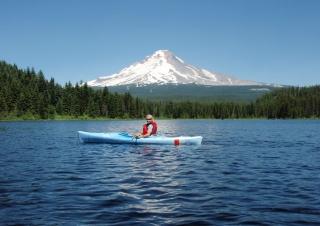 Kayaking Mount Hood Lakes