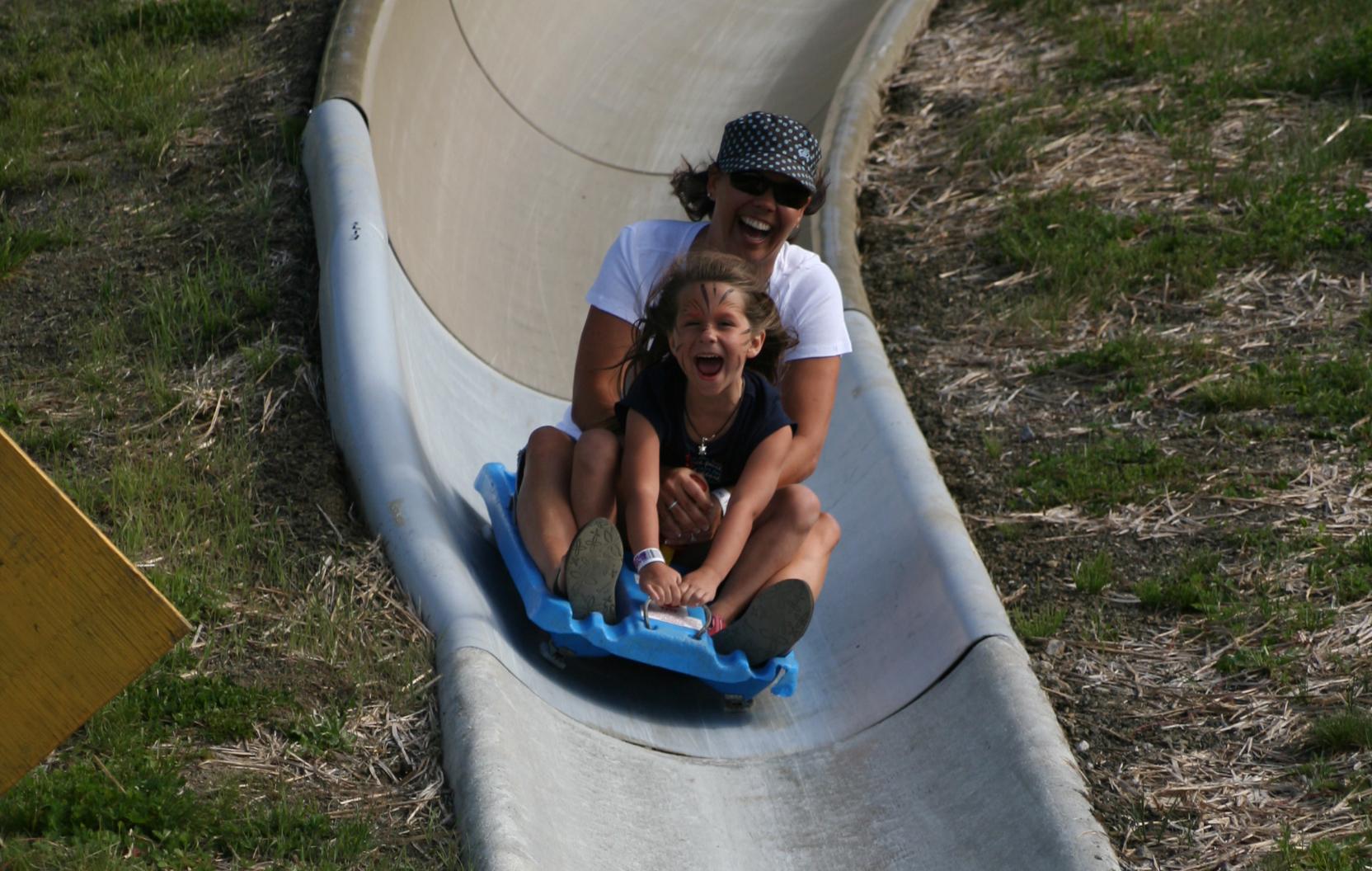 Alpine Slide at Mt. Hood Skibowl