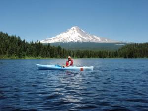 Kayaking Mount Hood