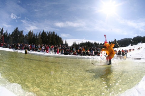 2013 Pond Skim & Snow Beach Festival